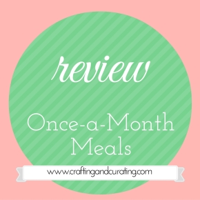 Waiting and Planning + Review: Once a Month Meals