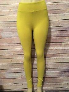 lula mustard leggings