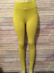 lula mustard leggings